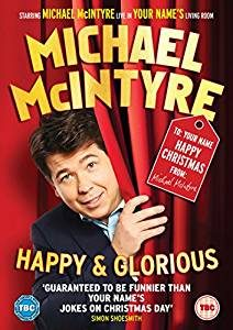 Michael McIntyre Happy & Glorious 2015 DVD