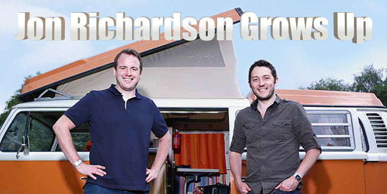 Jon Richardson and Matt Forde in Jon Richardson Grows Up