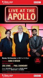 Live at the Apollo with Dara O Briain, Zoe Lyons and Paul Chowdhry