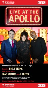 Live at the Apollo with Noel Fielding, Al Porter and Dane Baptiste